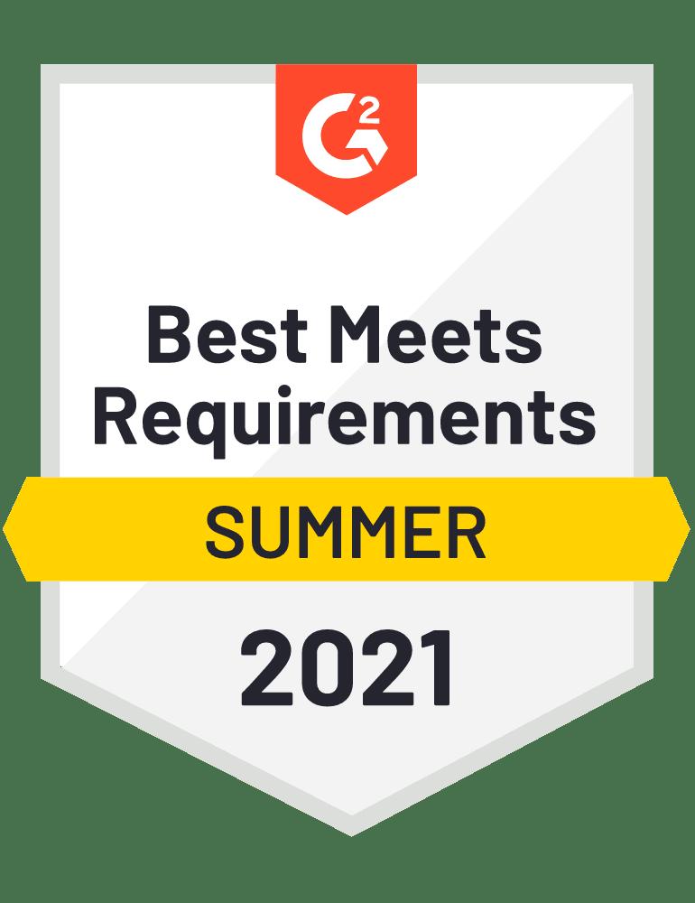 Best Meets Requirements